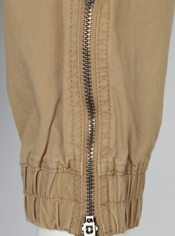 Béžové nohavice Jack & Jones Vega