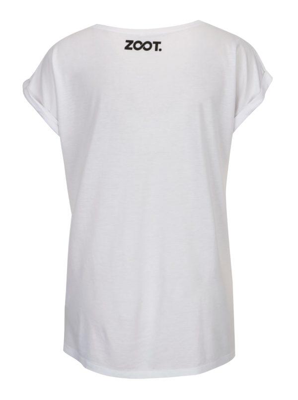 c3e29ca51300 Biele dámske tričko s potlačou ZOOT Original Láska