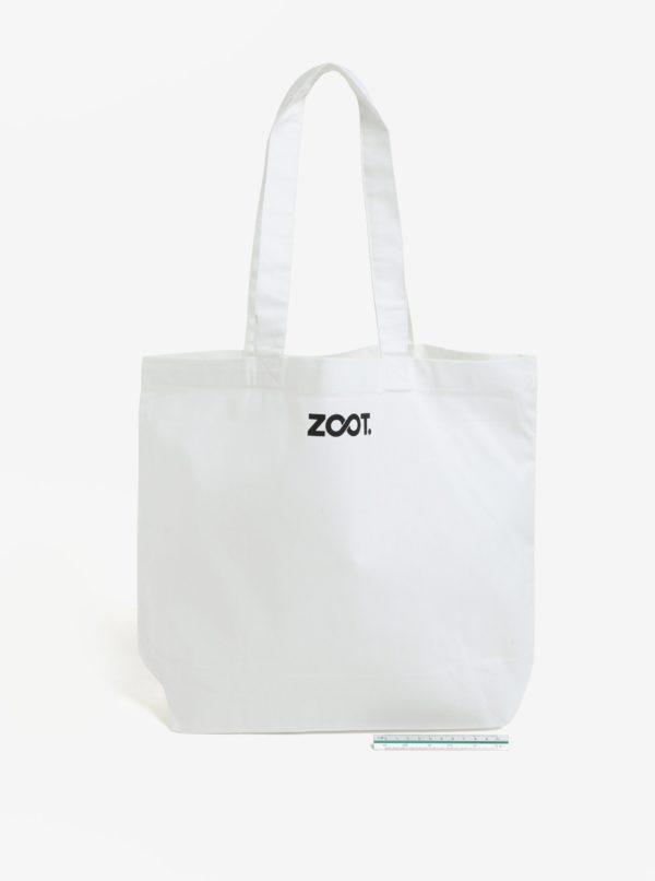 Biela taška s potlačou ZOOT Original Couple goals