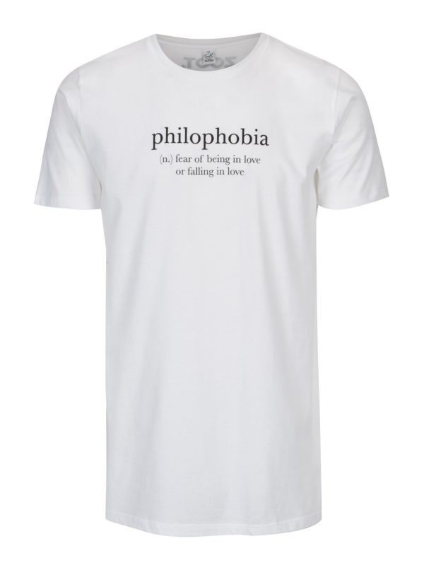 Biele dámske tričko ZOOT Original Philophobia
