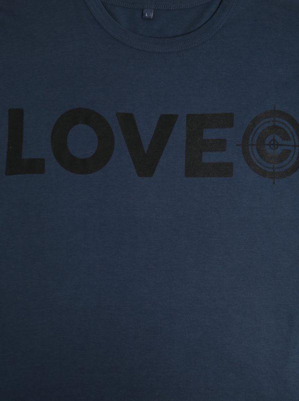 Modré pánske bambusové tričko ZOOT Original Lovec