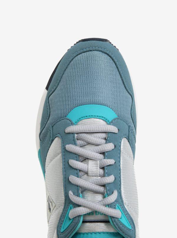 Modro-sivé dámske tenisky Le Coq Sportif Omega Mesh