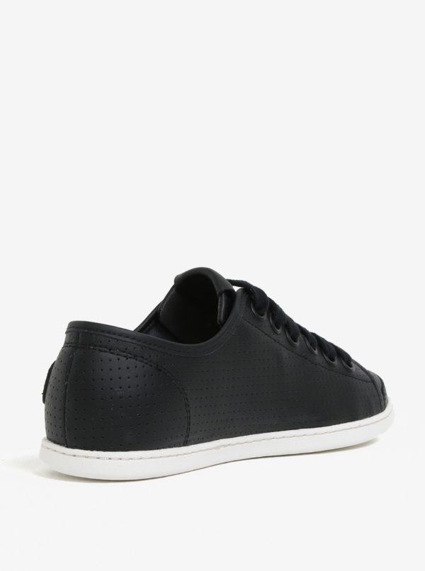 608f4f1d7d Čierne dámske kožené tenisky Camper Uno