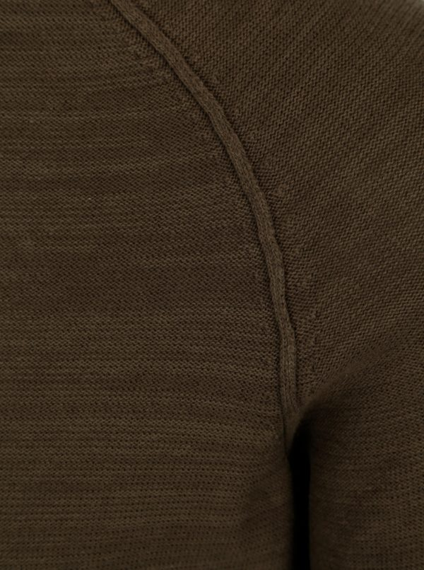 Kaki tenký sveter Casual Friday by Blend