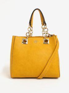 Žltá kabelka do ruky Bessie London