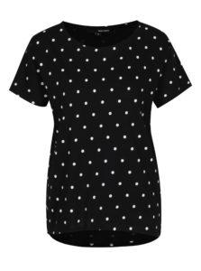 Čierno-biele bodkované tričko TALLLY WEiJL