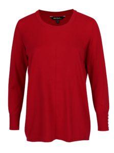 Červený sveter Ulla Popken
