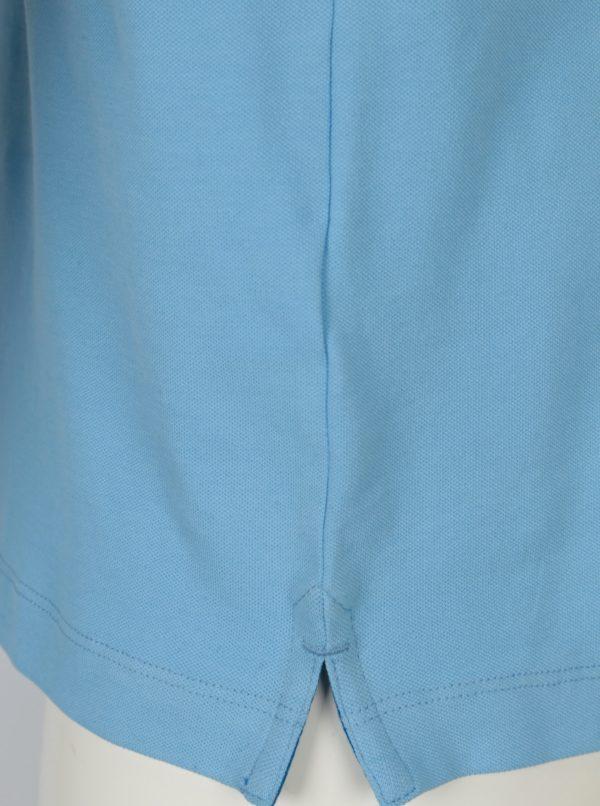 Modrá pánska slim fit polokošeľa s.Oliver