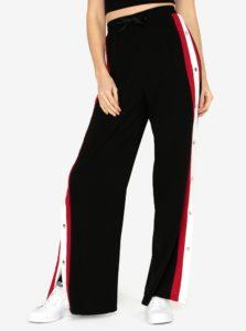 Čierne nohavice s vysokým pásom MISSGUIDED
