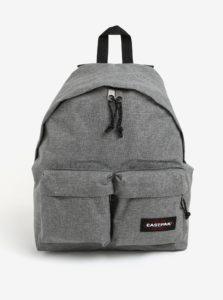 Sivý melírovaný batoh Eastpak Padded Doubl´r 22 l