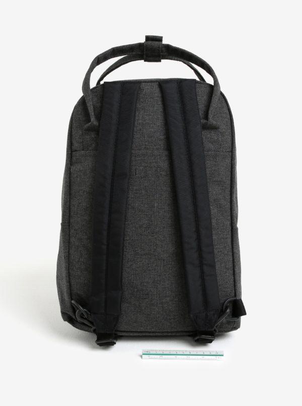 Tmavosivý batoh s úchytkami do ruky Eastpak Padded Shop´r 15 l