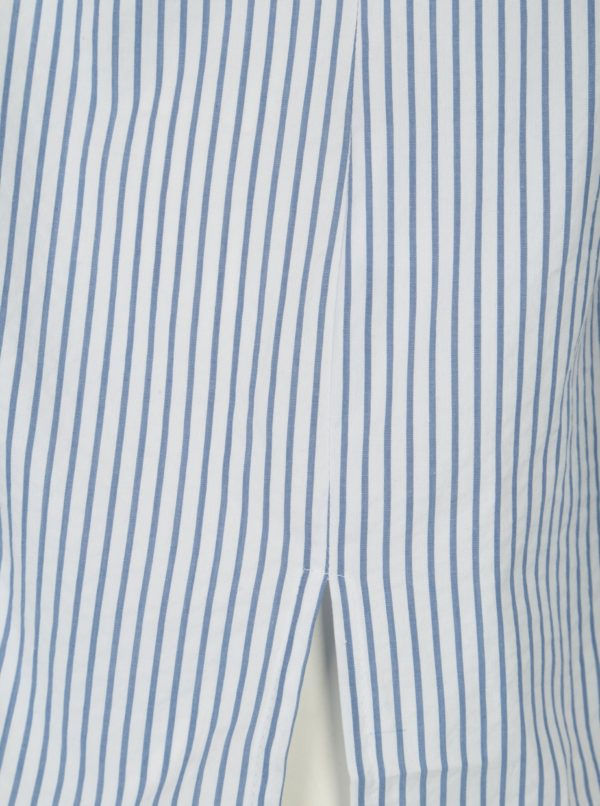 Modro–biela pruhovaná košeľa Ulla Popken