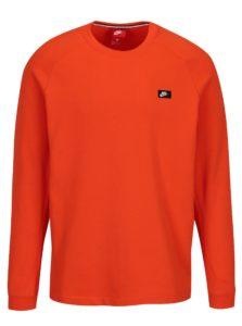 Oranžová pánska mikina Nike