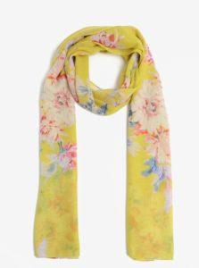 Žltá kvetovaná šatka Tom Joule Wensley