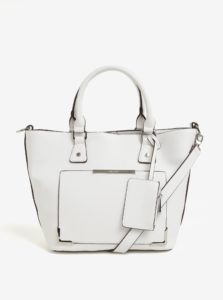 Krémová kabelka s puzdrom Bessie London