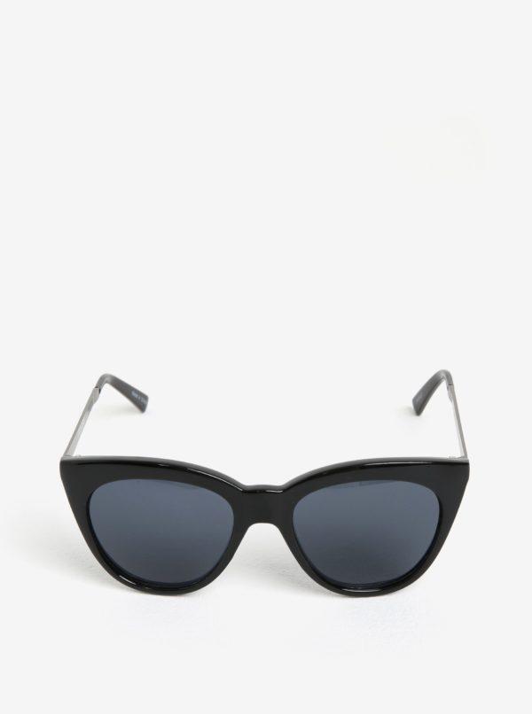 Čierne slnečné okuliare Pieces Melika