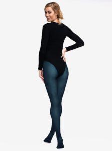 Tmavomodré pančuchové nohavice Andrea Bucci 80 DEN