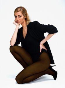 Tmavohnedé pančuchové nohavice Andrea Bucci 60 DEN