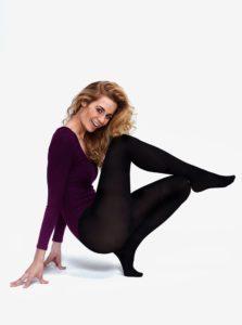 Čierne pančuchové nohavice Andrea Bucci 60 DEN