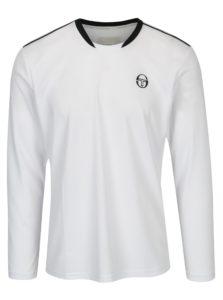 Biele pánske športové tričko s dlhým rukávom Sergio Tacchini Club Tech