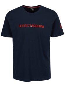 Tmavomodré pánske tričko Sergio Tacchini Robin