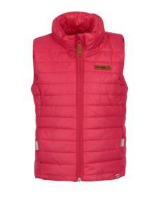 Ružová dievčenská prešívaná vesta Lego Wear Jamila