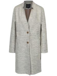 Sivo-krémový dámsky tenký kabát Broadway Abigale