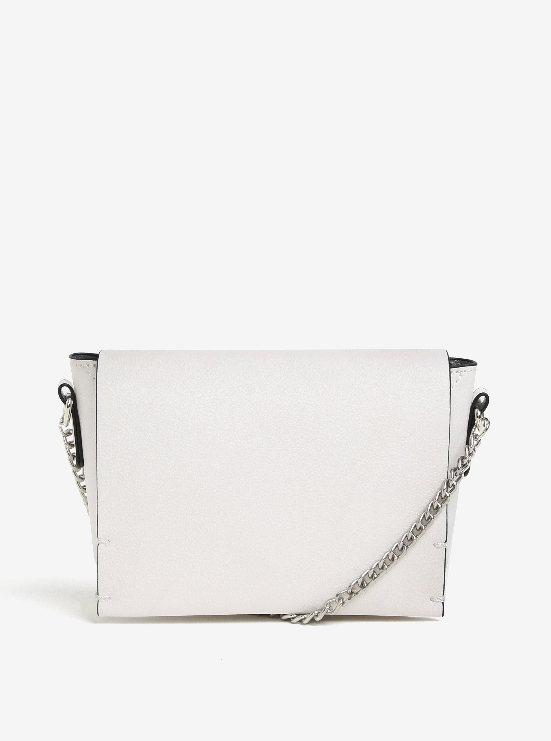 a31bdcc97 Biela crossbody kabelka s retiazkou Miss Selfridge | Moda.sk