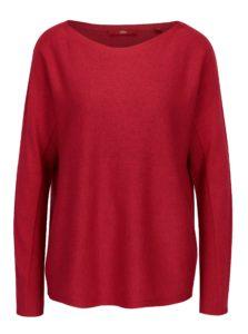Červený dámsky tenký oversize sveter s.Oliver