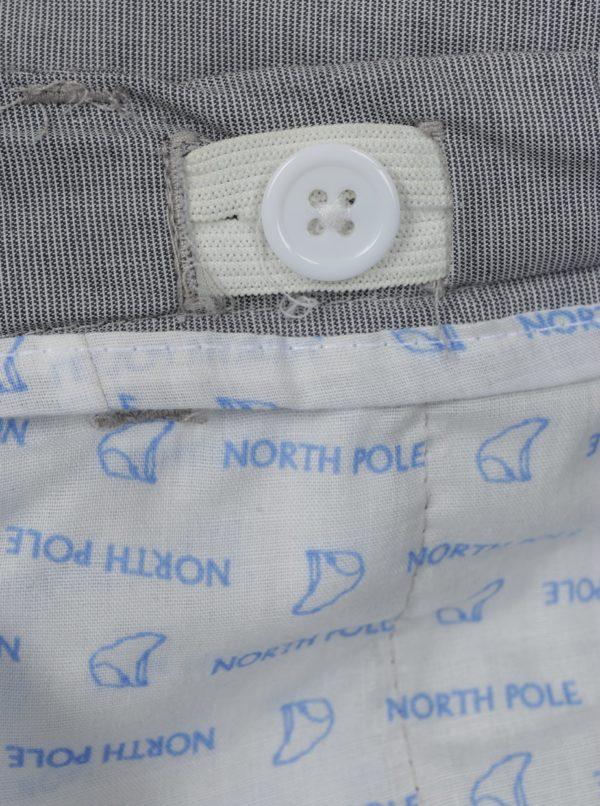 Sivé chlapčenské nohavice s vreckami North Pole Kids