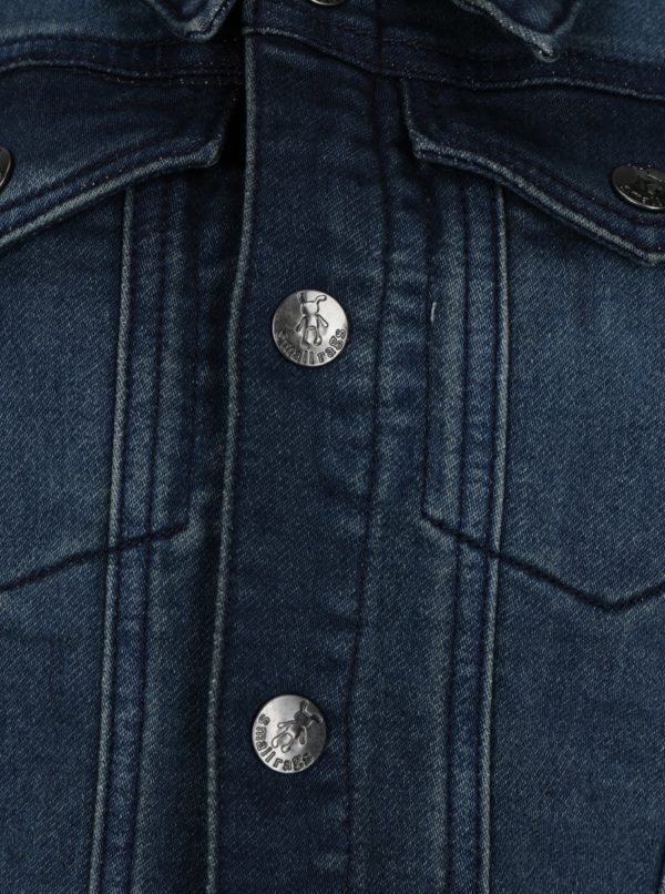 Modrá chlapčenská rifľová bunda small rags Gustav