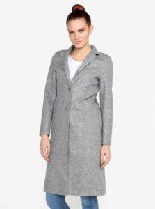 Sivý melírovaný kabát ZOOT