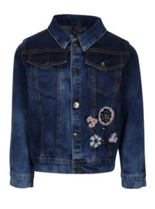 Modrá rifľová dievčenská bunda small rags Gerda