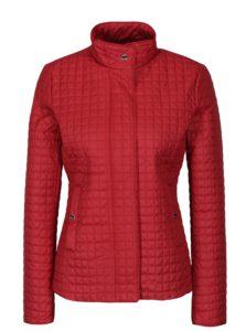 Červená dámska prešívaná bunda Geox
