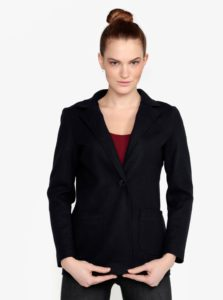 Tmavomodrý krátky kabát ZOOT