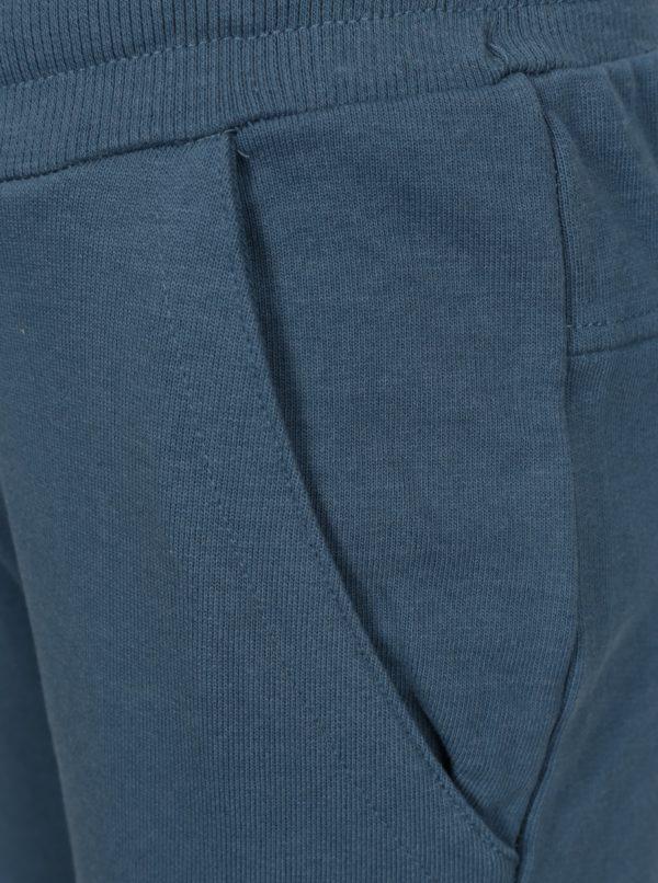 Modré chlapčenské tepláky small rags Gustav