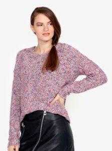 Ružový melírovaný sveter VERO MODA Abria