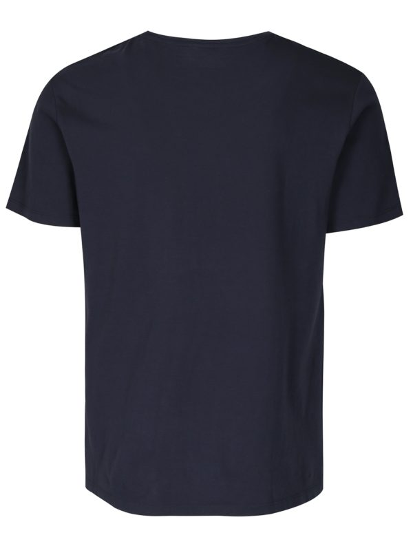 Tmavomodré tričko s potlačou ONLY & SONS Aerosmith