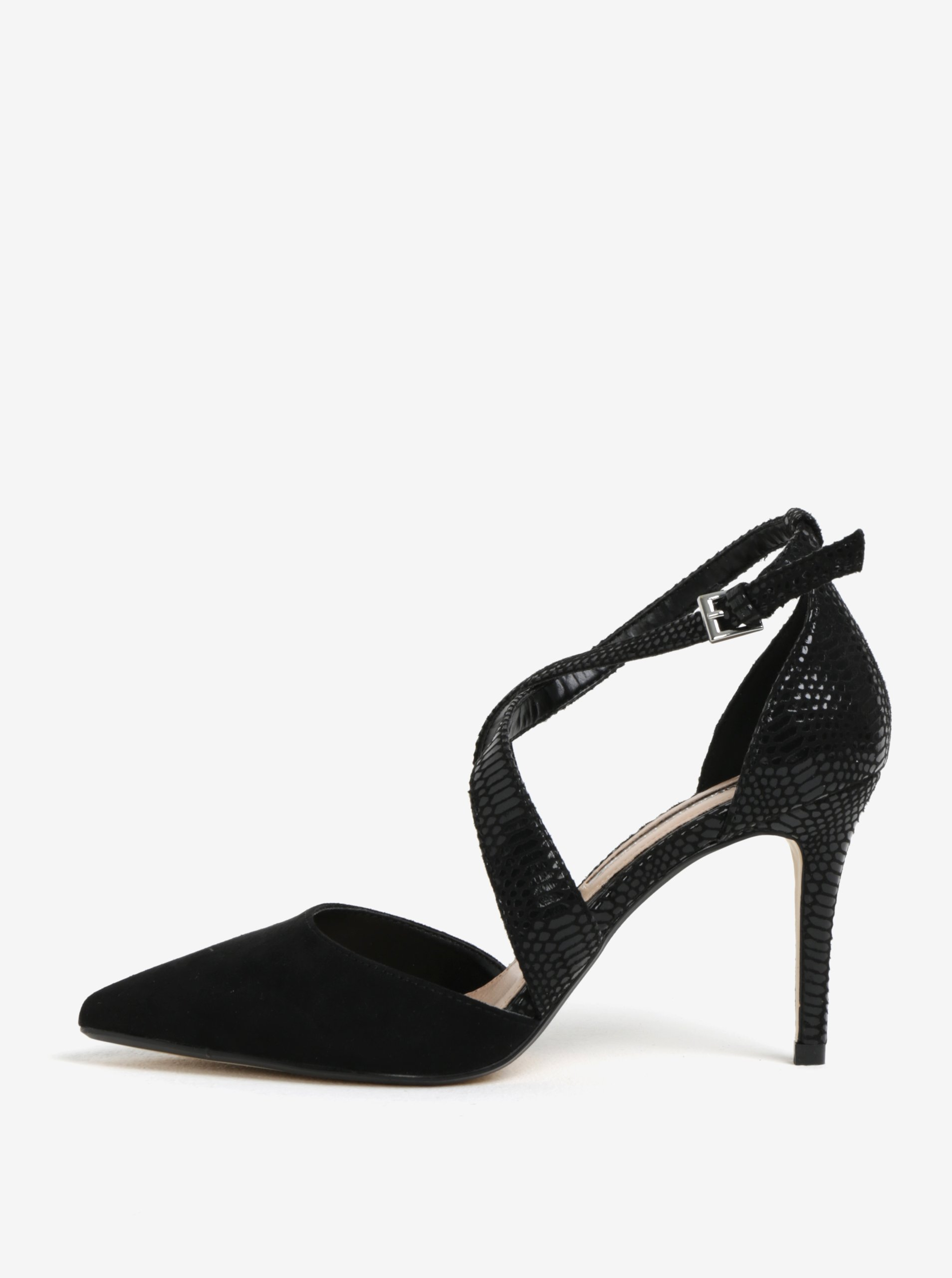 c5751ee258ce0 Čierne sandálky s hadím vzorom Dorothy Perkins | Moda.sk