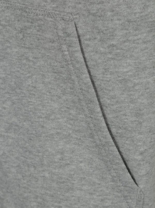 Sivá pánska mikina s kapucňou Vans Core