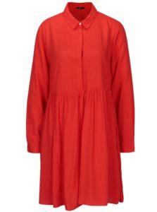 Červené šaty ONLY Nova