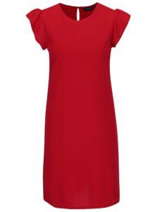 Červené šaty s krátkym rukávom Dorothy Perkins