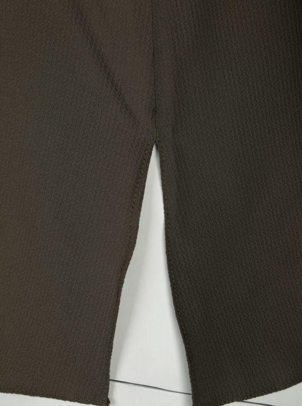 Kaki košeľa Dorothy Perkins Curve