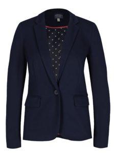 Tmavomodré dámske sako sa vzorovanou podšívkou Tom Joule