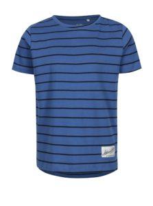 Modré pruhované chlapčenské tričko name it Henrik