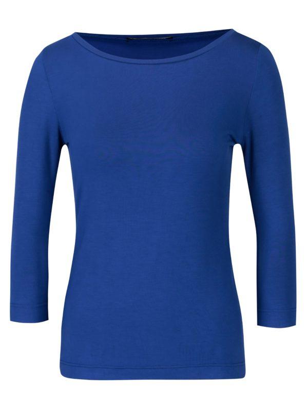 Modré dámske tričko s 3/4 rukávom Pietro Filipi
