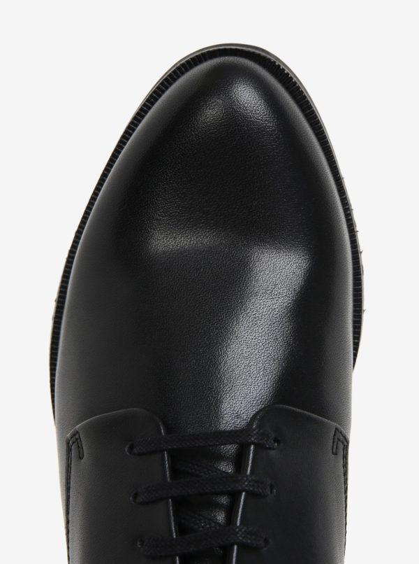 38d8cb7d04bf8 Čierne dámske kožené poltopánky Royal RepubliQ | Moda.sk