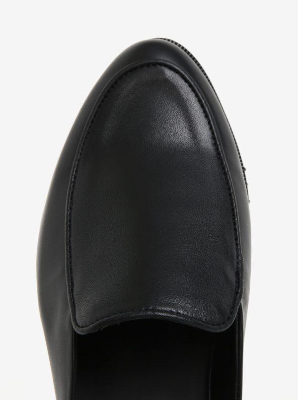 Čierne dámske kožené šľapky Royal RepubliQ