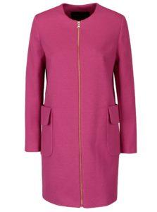 Ružový dámsky kabát Pietro Filipi