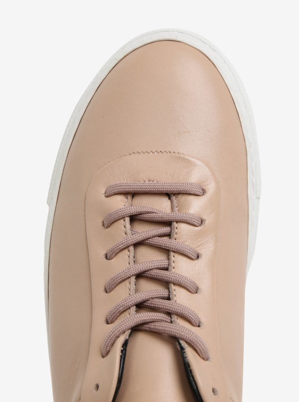 Béžové pánske kožené tenisky Royal RepubliQ